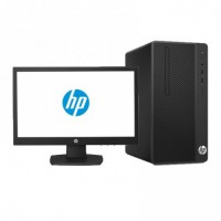 HP 290G1 Desktop, Core i5-7500 8GB RAM 1TB HDD WIN 7PRO with HP 18.5inch Monitor